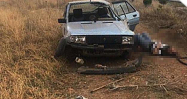 Otomobil şarampole uçtu: Bir kişi öldü, 2 kişi yaralandı