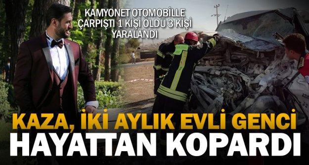 Sarayköy'de iki aracın çarpıştığı kazada 1 kişi öldü, 3 kişi yaralandı
