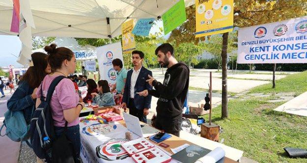 Üniversiteli gençlere Gençlik Meclisini tanıttılar