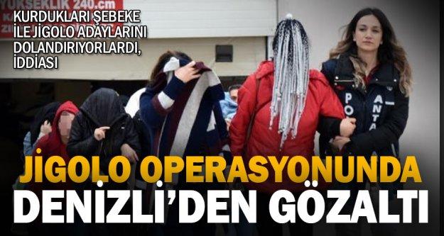 Antalya merkezli jigolo operasyonunda Denizli'de gözaltı