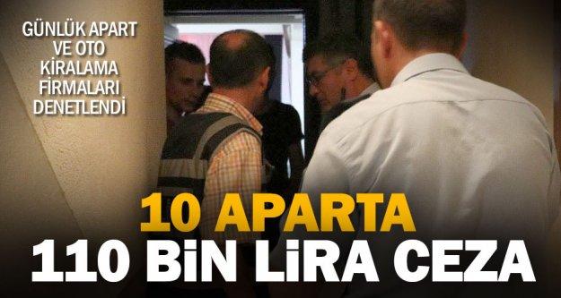 Apartlara denetim: 110 bin lira ceza