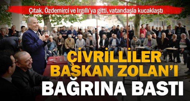 Başkan Osman Zolan Çivril'de hemşerileriyle kucaklaştı