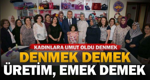 Büyükşehir'in meslek edindirme projesi DENMEK kadınlara umut oluyor