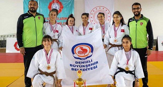 Büyükşehirspor Judo takımı Spor Toto Süper Lig'de