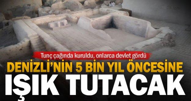 Çivril'deki kazılar Denizli'nin 5 bin yıl öncesine ışık tutacak