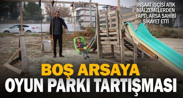 Denizli'de 'oyun parkı' tartışması