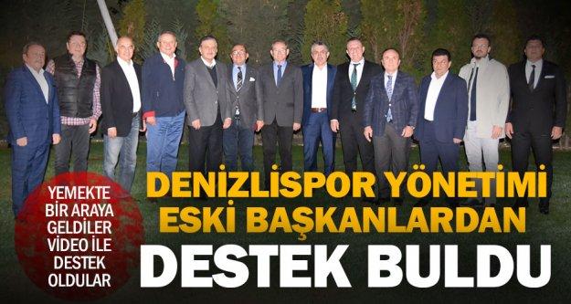 Denizlispor yönetiminden eski başkanlara 'Birlik ve Beraberlik' yemeği
