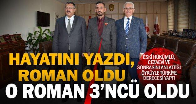 Eski hükümlünün, yaşadıklarını anlattığı öyküsü Türkiye 3'ncüsü oldu