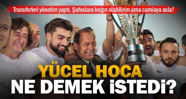 Eski teknik direktör Yücel İldiz'den ilgi çekici Denizlispor yorumu