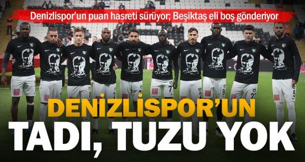 Horoz dibe çakıldı: Beşiktaş: 1 – Y. Denizlispor: 0