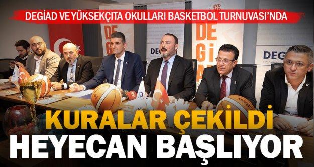 Kuralar çekildi, basketbol heyecanı başlıyor: 22 takım, 172 sporcu mücadele edecek