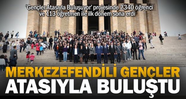 Merkezefendi Belediyesi, 2 bin 340 öğrenciyi Anıtkabir'e götürdü