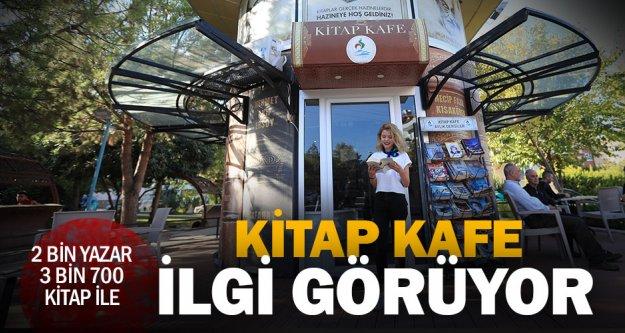 Pamukkale Belediyesi Kitap Kafe'ye ilgi büyük