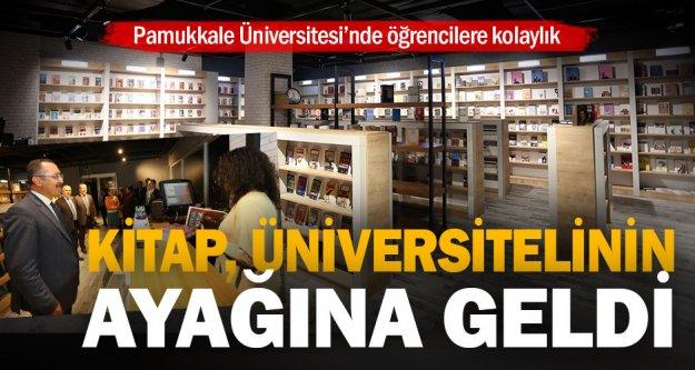 Pamukkale Üniversitesi'nde kitap satış noktası açıldı