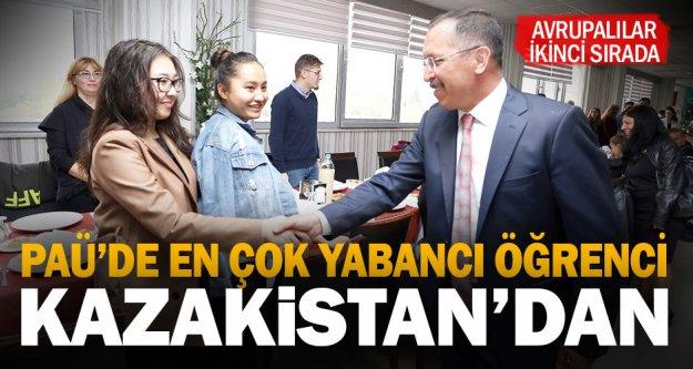 Pamukkale'deki yabancı öğrencilerin çoğunluğu Kazakistan'dan