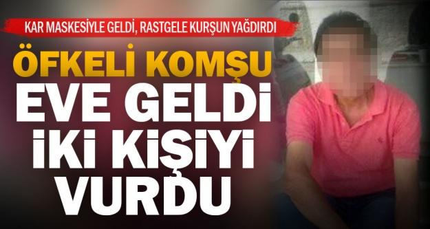Sarayköy'de komşu dehşeti: Karı-kocayı kurşun yağmuruna tuttu