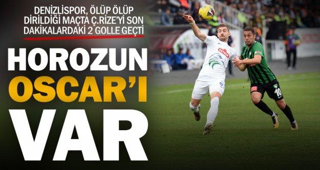Yukatel Denizlispor: 2 – Çaykur Rizespor: 0