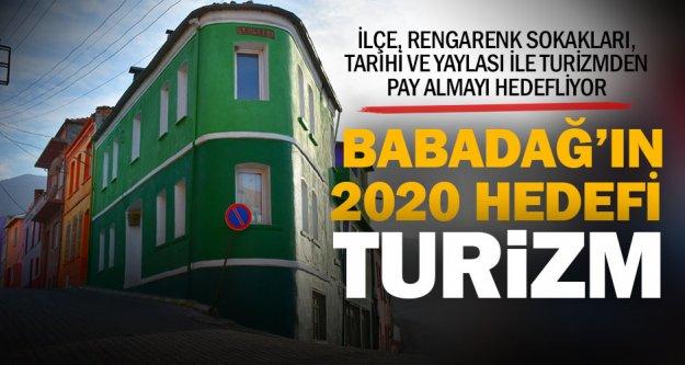 Babadağ, 2020'de turizmdeki payını büyütmek istiyor