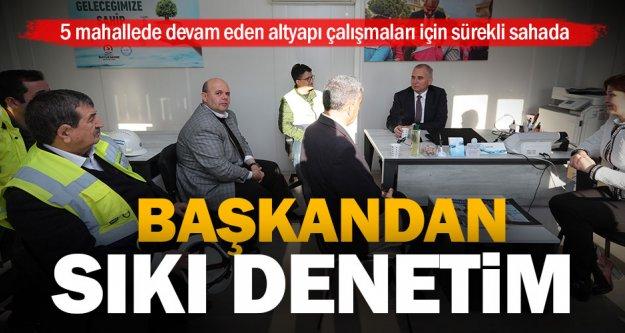 Başkan Osman Zolan'dan Altyapı İletişim Ofisine ziyaret