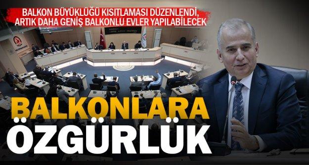 Başkan Zolan: Denizli'de balkonsuz ev kalmasın