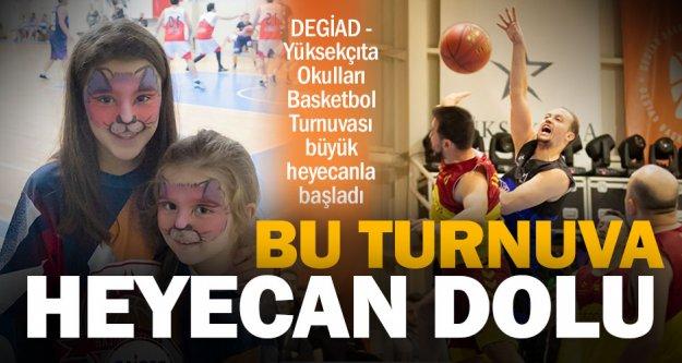 Basketbol heyecanı başladı, DEGİAD Başkanı Urhan'dan dostluk mesajı