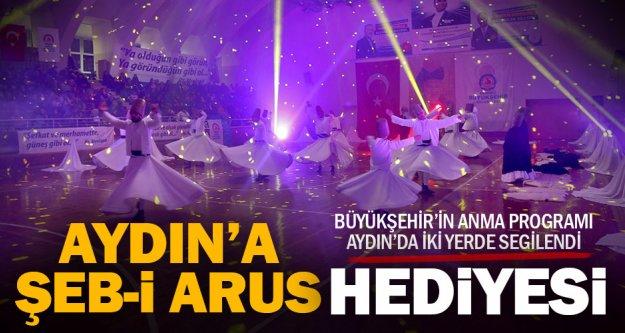 Denizli Büyükşehir'den Aydın'da Şeb-i Arus Gecesi