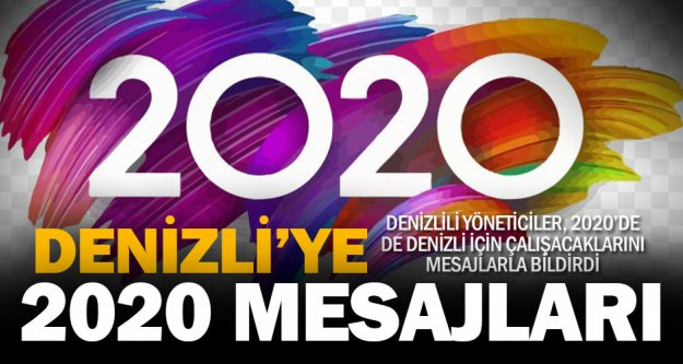 Denizli protokolünden 2020 mesajları