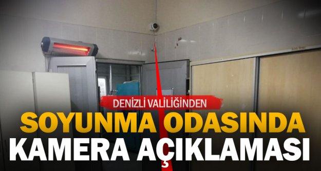 Denizli Valiliğinden 'hastanedeki soyunma odasına kamera takıldı' iddiasına ilişkin açıklama