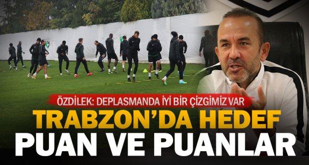Denizlispor, üç maçlık yenilmezlik serisini Trabzon'da sürdürmek istiyor
