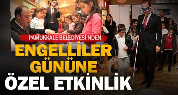 Pamukkale Belediyesi'nden engelliler gününe özel etkinlik