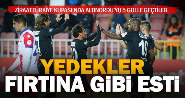 Süper Lig'de forma bulamayan oyuncular kupa maçında döktürdü