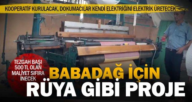 Babadağlı tekstilci kendi elektriğini üretmek için kooperatif kuracak