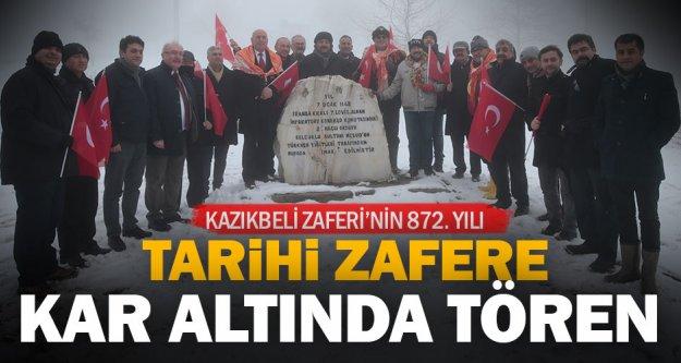 Büyükşehir'den tarihi zafere anlamlı tören