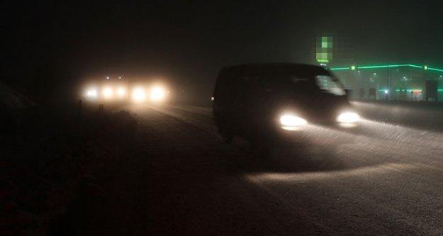 Cankurtaran'da yoğun sis ulaşımı aksattı