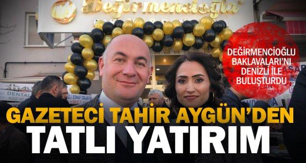 Değirmencioğlu Baklavaları 14'ncü şubesini Fatih'te açtı