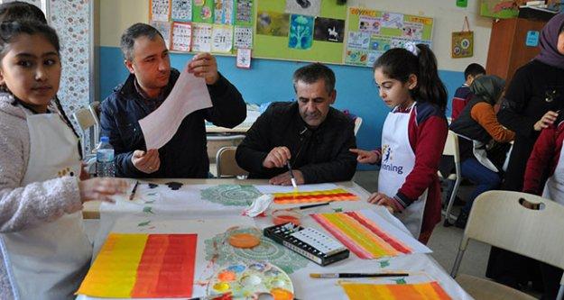 Denizli'de 'keyifli okul atölyem' projesi hayata geçirildi