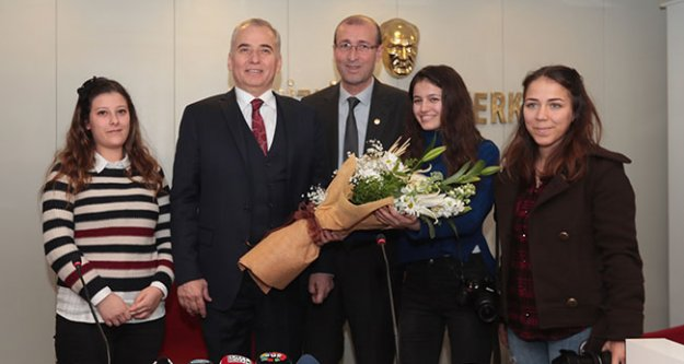 Başkan Osman Zolan'dan Gazeteciler Cemiyeti'ne ziyaret
