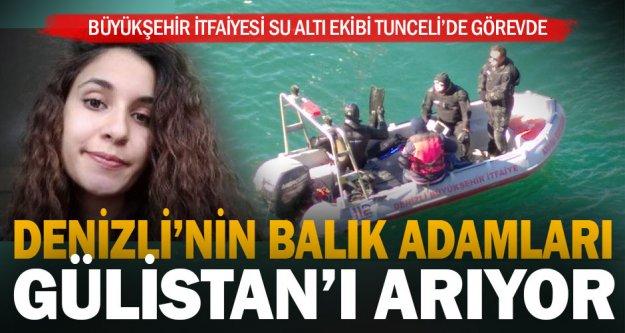Denizli'nin balık adamları Tunceli'de Gülistan'ı arıyor