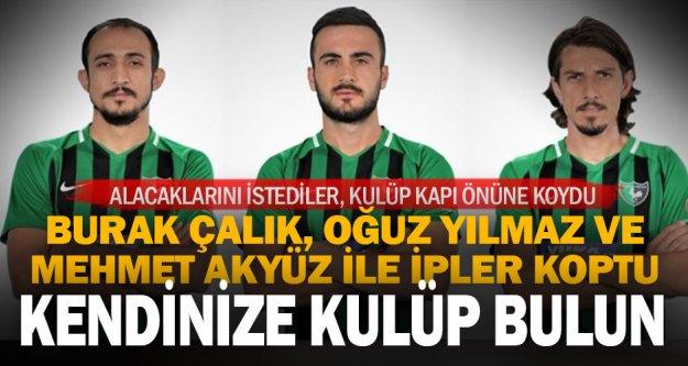 Denizlispor'da 3 futbolcu, kadro dışı bırakıldı
