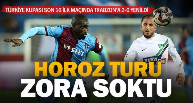 Denizlispor, Türkiye Kupası'nda tur atlama şansını Denizli'ye bıraktı