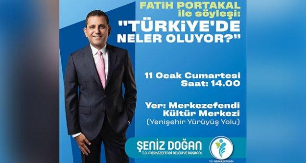 Fatih Portakal MKM'de konuşacak