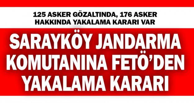İzmir merkezli FETÖ operasyonunda 176 asker hakkında yakalama kararı çıkarıldı