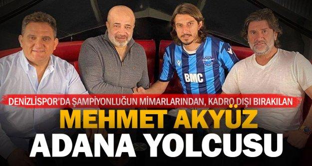 Kadro dışı bırakılan Mehmet Akyüz Adana Demirspor ile anlaştı