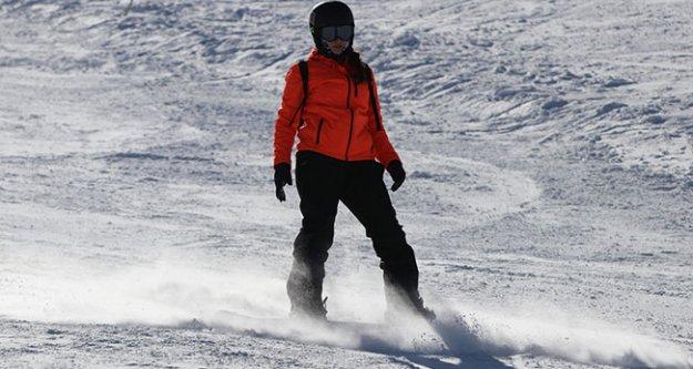 Kayak merkezi bugün kapalı