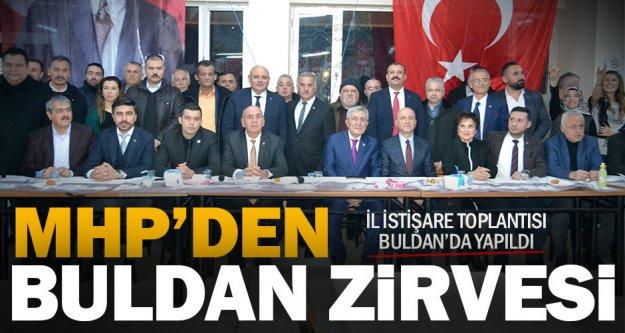MHP İl İstişare Toplantısı Buldan'da yapıldı