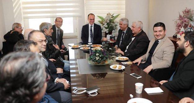 Örki'den Denizli Gazeteciler Cemiyeti'ni ziyaret