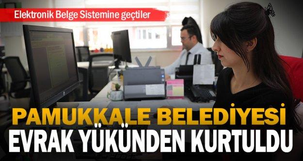 Pamukkale Belediyesi Elektronik Belge Sistemine geçti