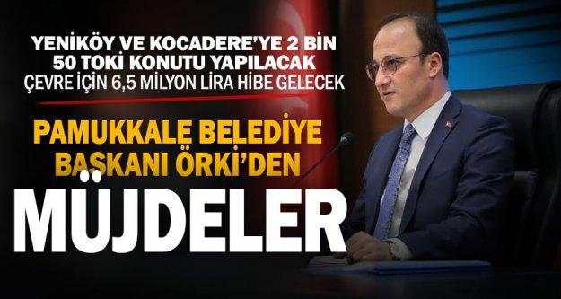 Pamukkale Belediye Başkanı Örki, Ankara'dan müjdelerle geldi