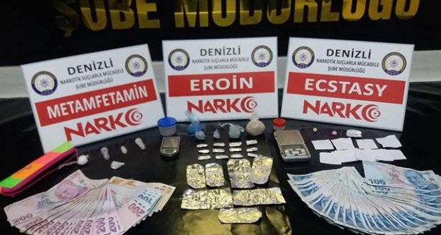 Uyuşturucu operasyonlarında 10 kişi tutuklandı