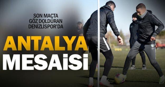 Yukatel Denizlispor, Antalyaspor maçı hazırlıklarına başladı